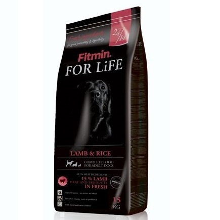 FITMIN dog For Life adult lamb&rice - 3kg