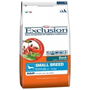 Exclusion Mediterraneo Adult Duck Small Breed 800g
