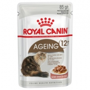 Royal Canin Ageing +12 gravy konservai, 12x85g.