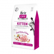 Brit Care Grain Free Kitten Healthy Growth&Development 2 kg