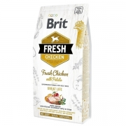 BRIT Fresh Dog Chicken&Potato Adult, 12kg
