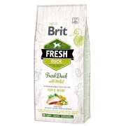 BRIT Fresh Duck with Millet Active Run&Work, 12kg