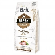 Brit Fresh Turkey with Pea Light Fit&Slim, 12kg