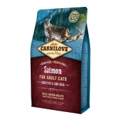 CarniLove Salmon Adult Cat Sensitive&Long Hair 2kg