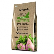FITMIN Purity cat Castrate. Begrūdis su vištiena, 1,5kg