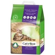 Cat's Best Smart Pellets 20L. Pjūveninis kraikas