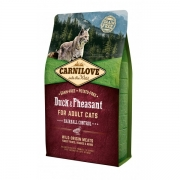 CarniLove Duck&Pheasant Adult Cat Hairball 6kg