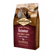 CarniLove Reindeer Adult Cat Energy&Outdoor 6kg