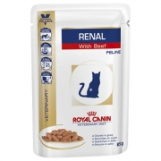 Royal Canin VD Cat Renal Beef / 85g konservai